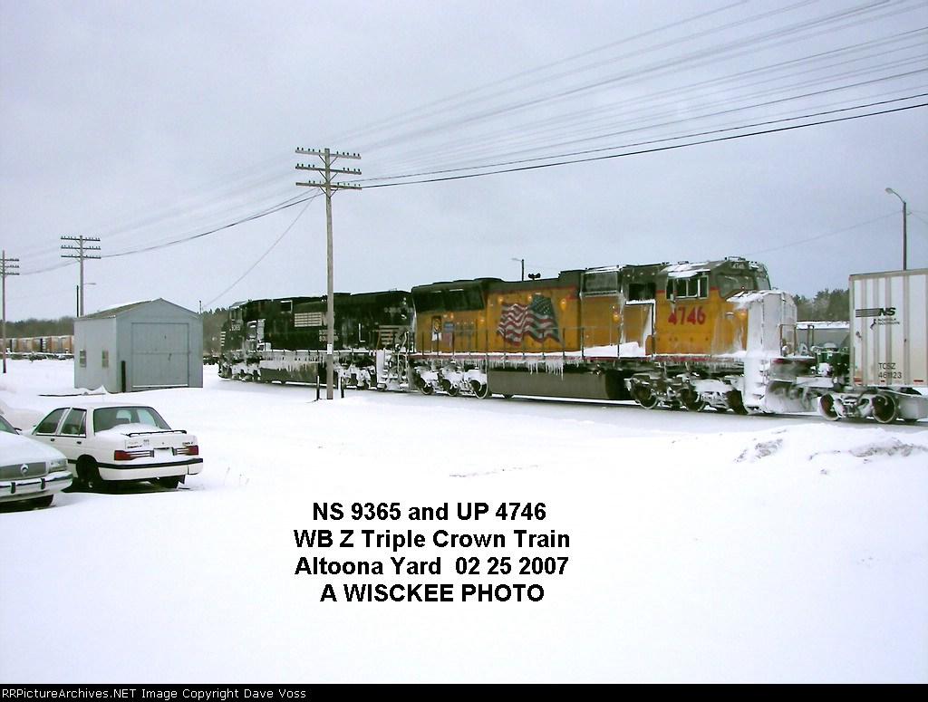 NS 9365 & UP 4746